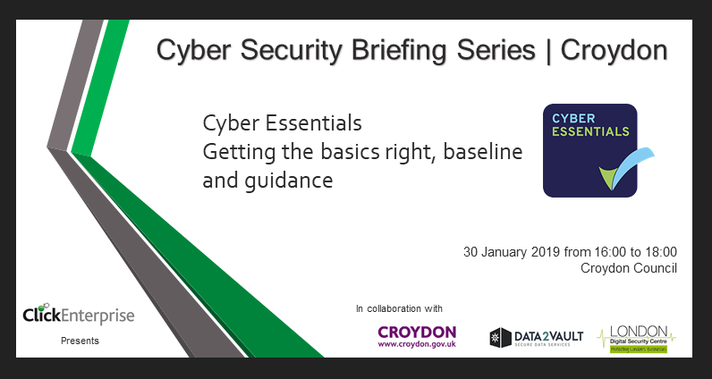 cyber security briefings invite