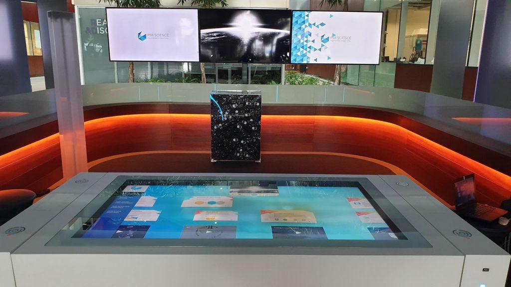 Displays at PMI