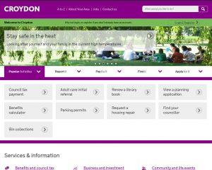 Croydon home page 2015