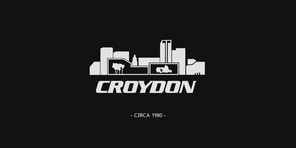 An old Croydon Council logo circa 1980