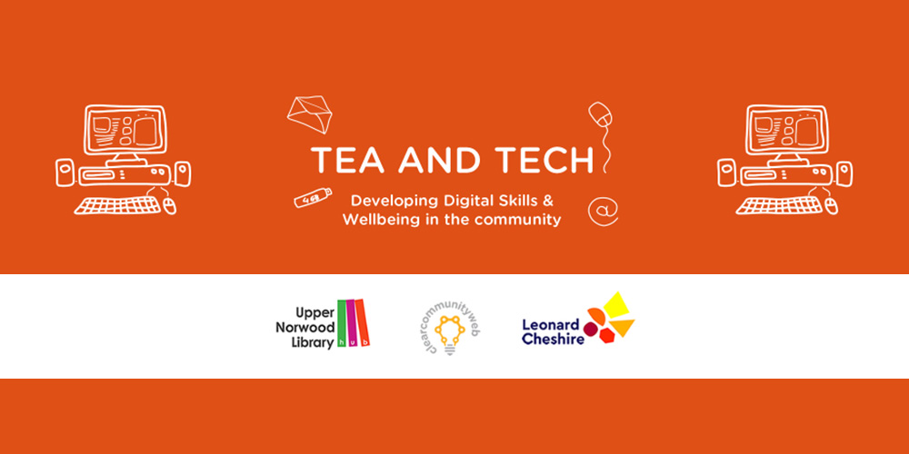 TEA and TECH – Improving health and wellbeing with online tools