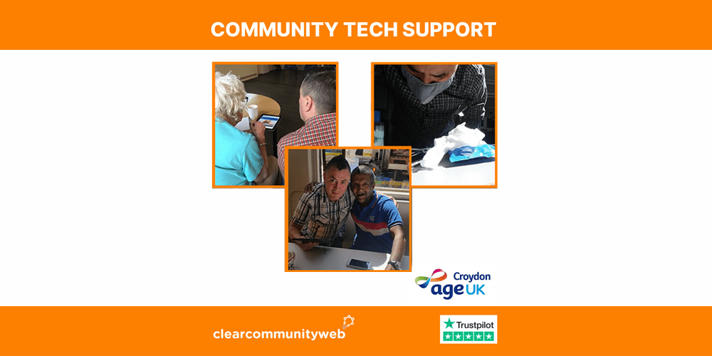 Community Tech Support event